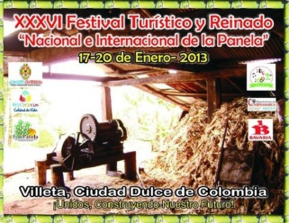Poster Oficial Reinado Panela 2013