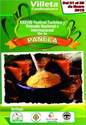 Afiche Oficial Reinado de la Panela 20015